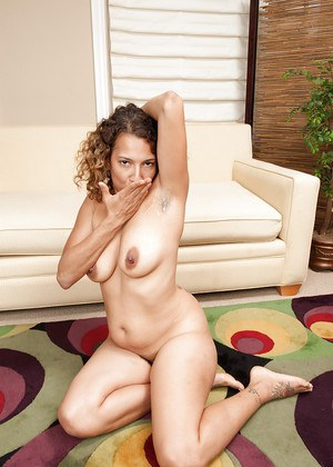 Curly-haired unshaven slut deepthroats and fucks a stiff meaty pole