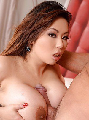 Asian hardcore dive gets her titties and throat fucked sweetly