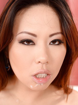 Terrifically sexy Asian model Tigerr Benson has hardcore sex action