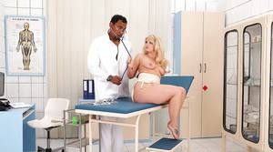 European chick Bonnie Rose takes part in experiment led by her gyno