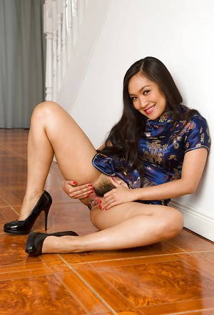 Fine Asian actress Amy Latina looks like she needs a good spanking