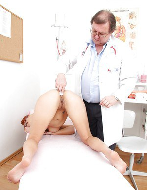 Lucy Bell adores visiting gyno's cabinet and getting ass drilled