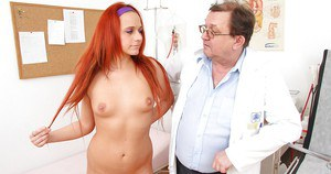 Cute fetish girl Terry Sullivan gets her vagina opened really wide
