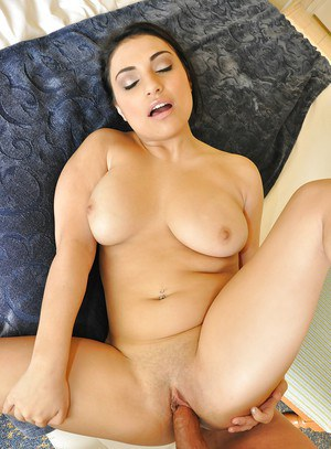 Hardcore Latina brunette Rikki Nyx is a very wild slut that loves dick