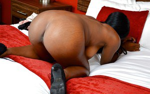 Lovely ebony babe Christie Sweet wants to get more of this lush