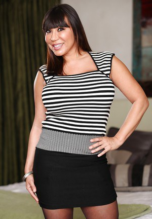 Asian fatty Ava Devine appears to be a lovely whore in those stockings