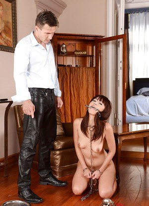 Cute Asian sex slave Marica Hase goes through severe BDSm practice