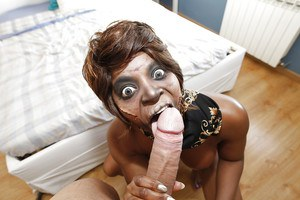 Mature ebony babe Jasmine Webb loves hardcore sex with all her heart
