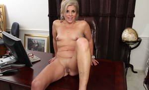 Amiable mature office worker Sierra Smith is in need of good fuck