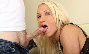 Hot blonde milf Ashlee Chambers dives into whirlpool of sexual passion