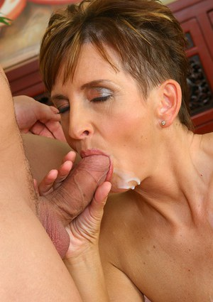 Shockingly beautiful milf in stockings Marcela gets pricked nicely