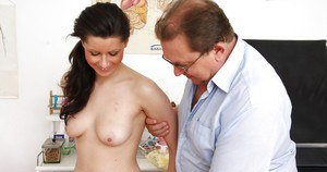 Fetish gyno is always amused by tasty pussy and ass of Mazzy