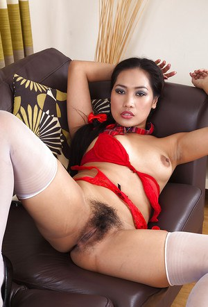 Amateur Asian of unforgettable beauty Amy Latina butters her muffin