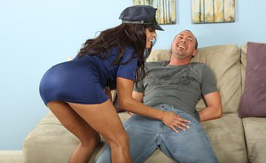 Alluring Latina cougar Francesca is the kind of milf that fucks a lot