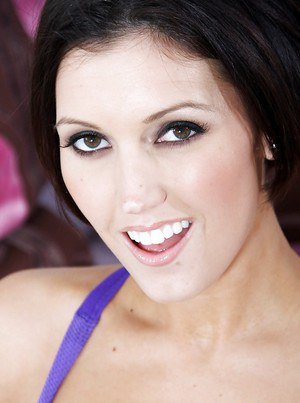 Bosomy milf babe Dylan Ryder is the brunette with horny attitude