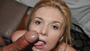 Hardcore blonde Erika Stryker learns to fuck in cowgirl position