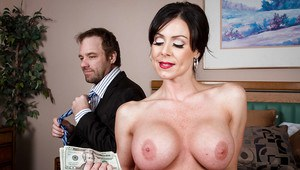 Amiable milf with big tits Kendra Lust adores hardcore ass-fucking