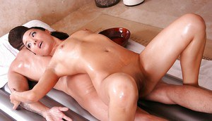 Frolic asian masseuse gives a soapy cock treatment with a facial ending