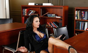 Dirty office milf Alektra Blue adores playing role of sexy teacher