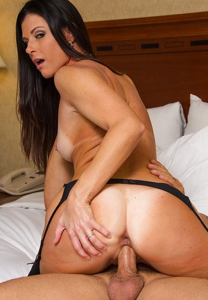 Attractive milf India Summer plays the role of horny wife perfectly