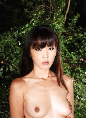 Attractive Asian babe Marica Hase wants to play sexy BDSM game