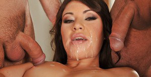 Gorgeous Tiffany Doll is taking part in the hottest gangbang groupsex