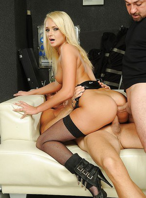 European teen Ivana Sugar has her every hole double penetrated