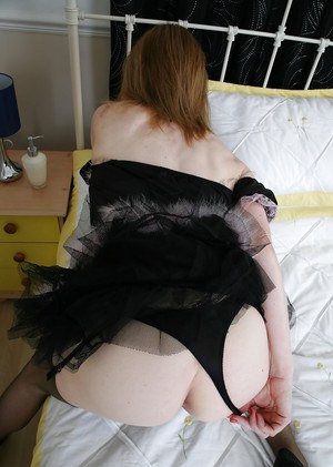 Mature maid in the uniform Clare Cream wants to masturbate now