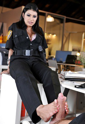 Hardcore fuck with an busty police officer with big tits Miya Stone