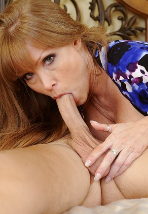 Busty Mature Swallows Cum