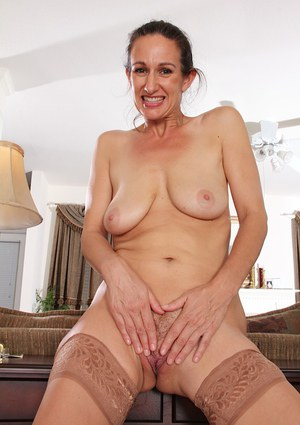 Genevieve Crest loves showing her genitals and playing with tits