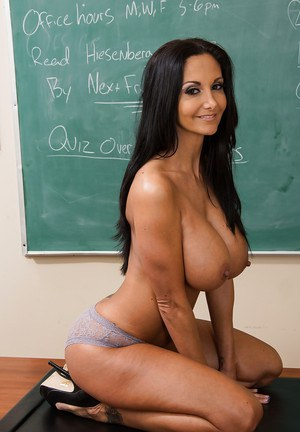European teacher Ava Addams has a new method of teaching