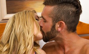 Unbelievable wife Karla Kush enjoys swallowing delicious rods