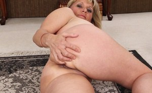 Close up undressing session with the perfect mature lady Aubrey Adams