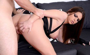 Excellent brunette milf Brooklyn Chase gets fucked in the office