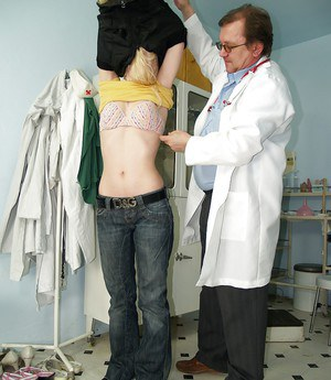 Kristyna and her doctor doing naughty things all the time