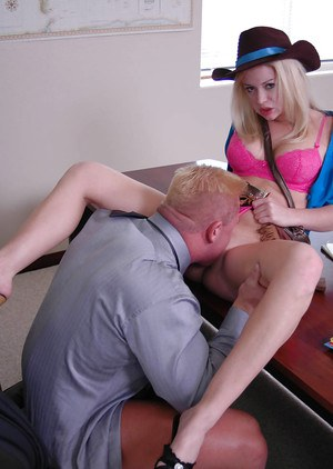Big tit blonde schoolgirl Holly gets penetrated with that fat cock