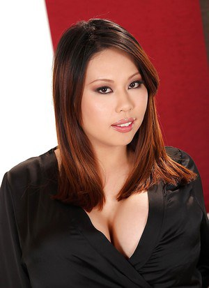 Fatty asian with big tits Tigerr undressing her tight chubby body