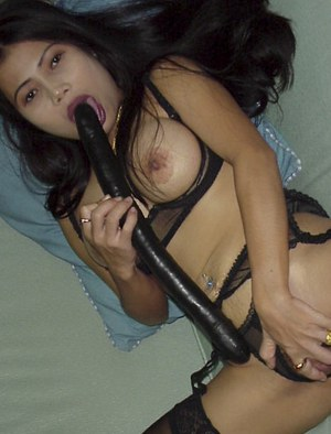 Stunning asian whore Lot masturbating that amazing shaved pussy