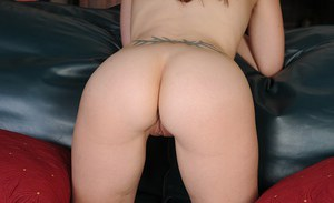 Violet Rose likes to show her ass and the tattoo on her back