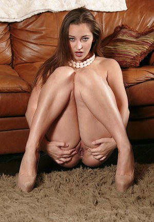 Dani Daniels looking good as always and showing her hairy pussy