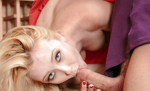 Samantha Rone sucking that hard dagger in all possible positions