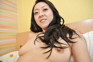 Undressing Asian milf with brunette hair Saeko Kojima caught in close up