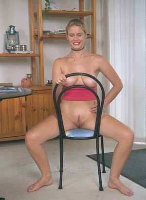 Chase spreads her legs wide just to show you how good she really is