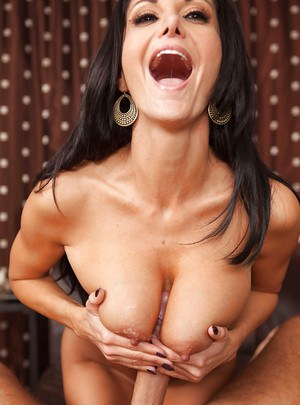 Brunette milf with big tits Ava Addams has her tight cunt licked out