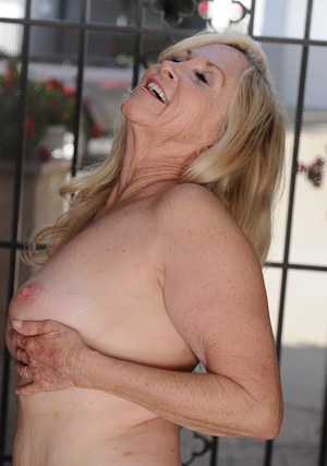 Shaved cunt of an mature lady Annabelle Brady shown in close up