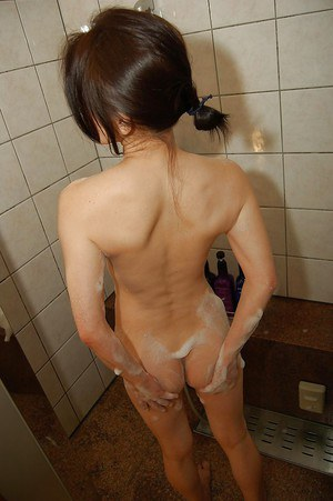 Nasty Asian MILF Nobuko is a very beautiful girl with small tits