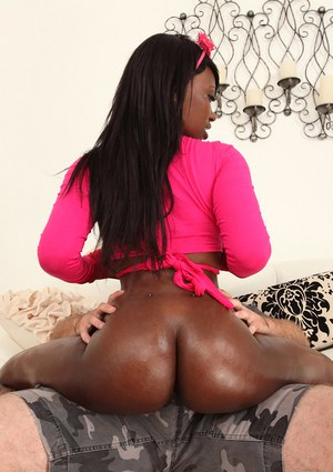 Ass fucking action with a beautiful Ebony pornstar Skyler Nicole