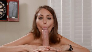 Hot pornstar Riley Reid has her hairy pussy fucked hardcore with a big cock