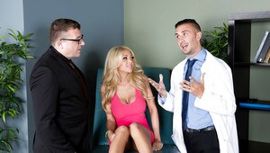 Cumshot action with a big tits reality blonde Kayla Kayden